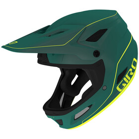 Giro Disciple MIPS Casque, matte true spruce/citron